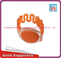 Wholesale copy rfid cards - 100pcs 125KHz T5577 Waterproof Plastic Bracelet Reusable RFID abs Wristband For Copy Access Control ID Tags