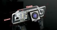 hd lights pour voiture achat en gros de-Caméra arrière de voiture pour BMW X5 caméra inversée / HD CCD RCA NTST PAL / plaque d'immatriculation OEM