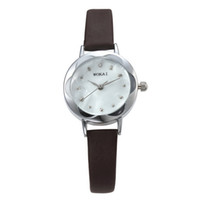 Wholesale Ladies Watches Small Dial - Luxury Watches Womens Fashion Small Dial Diamond Watch Quartz Flower Shape Polygon Case Watches Ladies Fashion Watch Free DHL for 50 pcs Up
