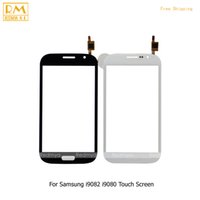 Wholesale 5pcs For Samsung Galaxy Grand Duos GT i9082 i9080 Neo i9060 Plus i9060i i9062 Touch Screen Panel Digitizer Sensor Glass Lens Phone Parts