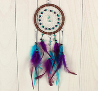 Wholesale Wedding Car Decorations Supplies - Handmade valentine's creative jewelry turquoise dreamcatcher auto supplies creative graduation gifts crafts accessories bridal chamber FV01