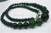 """Wholesale fashion jewelry parts accessories - Wholesale- Fashion jewelry 6-14mm 100% natural Chalcedony round beads necklace Accessory Parts Natural Stone 18"""" MY4329 Wholesale Price"""