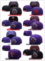 2017-18 Mais novo Toronto ajustável bordado Raptors Snapback chapéus Outdoor Summer Men Basquete Caps Sun Visors Cheap Women Basketball Cap