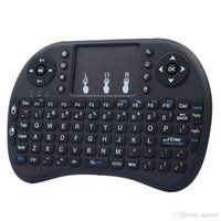 Wholesale android tv fly mouse for sale - Wireless Rii I8 Fly Air Mouse android tv box keyboard Keyboard Remote Rechargeable lithium ion battery Wireless Remote For TV BoxT95