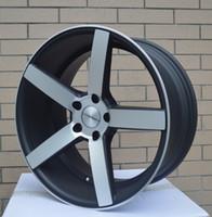Wholesale 16 Alloy Rims - New design alloy wheels alloy rim original replica 18inch 5x112 5x114.3 5x120 for Benz AUDI cars TE37,HRE ROTIFORM,CV3