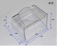 teclado ao ar livre venda por atacado-Atacado-acrílico à prova de água da chuva capa de fechamento ao ar livre caso impressão digital RFID controle de acesso leitor de teclado interfone