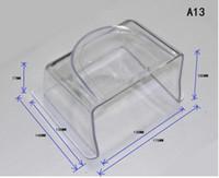 Wholesale Rfid Reader Keypad - Wholesale- acrylic rain water proof outdoor closure cover case fingerprint RFID access control keypad reader intercom