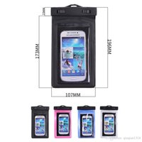 Natação Sports Sealed Waterproof Armband Bag Pouch Touch Screen Cell Phone Cover Case para iPhone 7 7 Plus