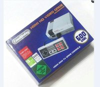Wholesale Wholesale Console Wifi - HD HDMI Out Retro Classic Game TV Video Handheld Game Console Entertainment System Built-in 600 Classic Games for NES mini Game