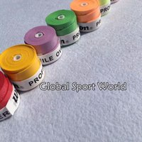Wholesale Sticky Grip - Wholesale- 1pc ProFile PU sticky feel badminton grip,tennis overgrip,badminton over grip,squash racket grip