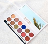 Wholesale Matte Glitter Wholesale - free shipping DHL ! HOT kylie cosmetics New makeup kylie jenner the Royal peach 12 color eyeshadow palette   eyeshadow palettes