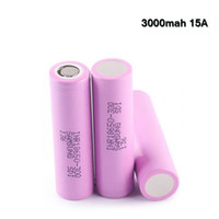 Wholesale electronic drain for sale - Group buy Authentic mah Rechargeable Lithium Battery Samsung Q A High Drain Battery For Electronic Cigarette Box Vape Mods with
