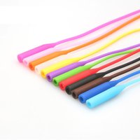 Wholesale 12 colours High Elastic Anti Slip Silicone Sunglasses Eyeglasses cords Glasses chain cord holder String Rope