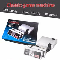 Wholesale Brand Video Games - Brand New Mini TV Handheld Game Console Video Game Console For Nes Games with 500 Different Built-in Games