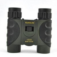 Wholesale Compact Monocular - Visionking 10x25 Roof Compact Binoculars Monocular Light Weight bird watching Out door Travel Sky Sports Hunting