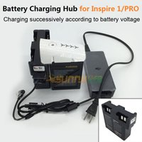 Wholesale parallel board - Wholesale- Inspire 1 PRO Matrice M100 Battery Charging Hub Battery Steward 26.3V Charger Adapter Parallel Charging Board for DJI Inspire 1