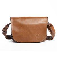 Wholesale Mini Briefcase Men - Wholesale-2016 New Messenger Bag Men's Multifunctional Pu Leather Bags Fashion Crossbody Business Briefcase Leisure Travel Shoulder Bag