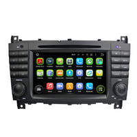 Wholesale Mp3 Player G - Fit Mercedez Benz C-Class W203 2004-2007 CLC G Class W467 2008-2011 Android 5.1.1 1024*600 HD car dvd player gps radio 3G wifi BT dvr OBD2