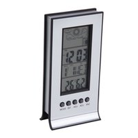 2017 neue Ankunft Indoor Outdoor Wireless Thermometer Wetterstation Wecker Kalender