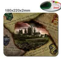 Wholesale Harry Potter Hot - Hot Selling Hogwarts Castle Harry Potter Design Mouse Mat Quick Printing Custom High Quality Non-Skid Durable Mouse Pad