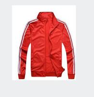 traje de cardigan beige al por mayor-M-3XL marca traje hombres / mujeres deporte chándal traje casual deporte traje chaqueta y pantalones de moda