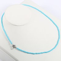 Wholesale Weaved Necklaces - TL Stainless Steel Beaded Necklace Original Design Weave Necklace For Women Hot Selling 5 Colours 2017