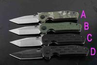 ingrosso coltelli da scatola-Coltello pieghevole High End 4 Style ZT0620 9Cr18 Coltello Tanto Point G10 Maniglia Coltelli EDC con scatola originale Confezione di carta