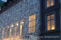 guirlande de batterie portable achat en gros de-led cordes 1pc 10 * 3M 1000 LED lumières de rideau, la lumière d'ornement de Noël, Flash Color Fairy Wedding Decoration # 87V