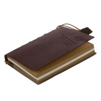 Vente en gros - Delicate Cool Classic Vintage Leather Bound Blank Pages Agenda Journal