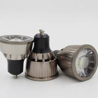 Wholesale 12v Mr16 Bulb Lumen - High Lumen LED COB Bulb 3W 5W 7W Spot LED Lightings with MR16 GU10 GU5.3 E24 E14 LED Base