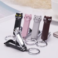 Wholesale Bag nail a tool stainless steel nail cut cartoon nail scissors key pendant household goods