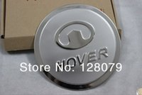Wholesale Hover H5 - Wholesale- High quality car Aluminum Gas Fuel tank cover for Great Wall Haval Hover H3 H5