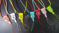 Wholesale Mobile Phone Cord Lanyard - Neck Cell Phone Mobile Chain Straps Camera Straps Keychain Charm Cords DIY Hang Rope Lariat Lanyard for ID Pass Card MP3 Holder Lanyard