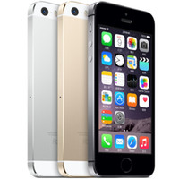 Wholesale Unlocked Iphone 5s Wholesale - Original Unlock Refurbished Apple Iphone 5S Touch ID Cell Phone 4G LTE 4.0Inch 64GB Dual Core GPS