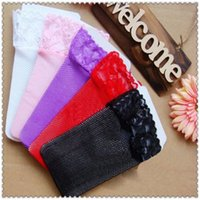 Wholesale Womens Body Stockings - Wholesale- Lace Top Hollow Fishnet Thigh High Womens Sheer Body stocking Sexy Stockings