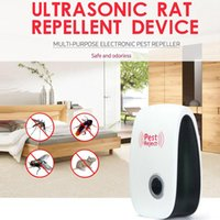 2017 Vendita Calda EU / US Plug Elettronico Ultrasonico Anti Mosquito Insetto Repeller Rat Mouse Scarafaggio Pest Respingi Repellente