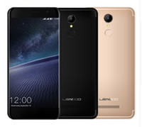 Wholesale 3d Fingerprint - LEAGOO M5 EDGE 4G Smartphone Android6.0 5.0inch MTK6737 Quad Core 2GB+16GB 13MP Fingerprint 3D Edgeless Slim Display