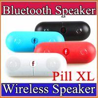 новый спикер для таблеток оптовых-НОВАЯ Pill XL Bluetooth Mini Speaker Переносной Беспроводной Стерео Музыкальный Звуковой Ящик Аудио Super Bass TF Слот Громкой Связи MP3-Плеер С Ручкой E-YX