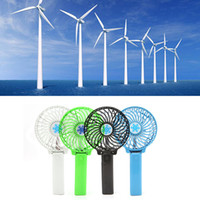 Wholesale Handheld Folding Fans - USB Rechargeable Handheld Mini Fan Lithium Battery Portable Folding Cooling Fan Foldable Hand USB Mini Fan