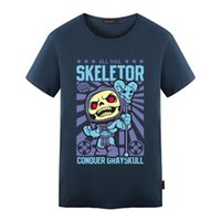 Wholesale Masters Universe Wholesale - Wholesale- Skeletor Avater T Shirt Design Inspired By He-Man Master Universe T-shirt Style Cool Novelty Funny Tshirt Men Women Printed Tee