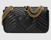 Wholesale Popular Messenger - New High quality chain single shoulder messenger purse lady fashion evening bag women popular casual bag black red pink White  Domybest
