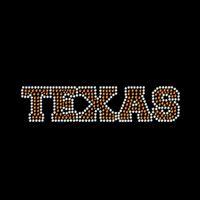 Wholesale T Shirts Rhinestones Wholesale - Wholesale Peace Love I Love Texas Iron On Rhinestone Transfer Hot Fix Motif For t-Shirts