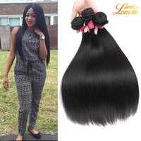 Factory Cheap Human Straight Hair Bundles Extension brésilienne des cheveux humains vierges Indian High Quality Hair La couleur naturelle peut être teintée