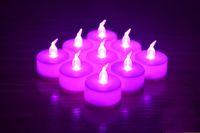Wholesale unscented candles resale online - 960 piece cm cm Flameless LED Tea Light Candles Vivii Battery powered Unscented LED Tealight Candles Fake Candles Tealights