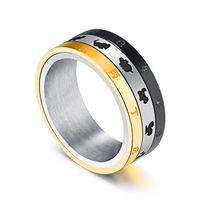 tiere chinesischen ring großhandel-Edelstahl-chinesische Sternzeichen-Symbol-Spinner-Ring-Tier-Muster zwölf mit chinesischem Charakter