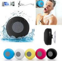 Portable Shower Waterproof Bluetooth Speaker Mini Wireless Bluetooth Handsfree alto-falantes para telefone inteligente Samsung Note5 CCA6408 30pcs
