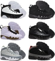 Wholesale Charcoal Air - New air 9 retro Copper Statue Anthracite Baron Charcoal Johnny Kilroy men basketball shoes 9s cheap sports sneakers US size 8-13 With Box