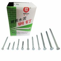 Wholesale Wholesale Fastener Hardware - High strength cement wall nails hanging nails hard steel nails cement durable Fasteners and Hardware wholesale free shipping