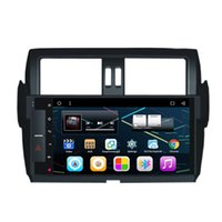 "Wholesale Toyota Land Cruiser Aux - 10.2"" Quad Core Android 6.0 Car DVD For Toyota Prado 2014+ Radio GPS Navi Receiver OBD DVR WIFI 3G Mirror Screen OBD DVR BT AUX Quad Core"