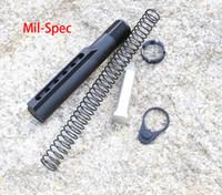 Wholesale buffer tubes resale online - Mil Spec Buffer Tube Kit Aluminium Receiver Extension Tube Kit